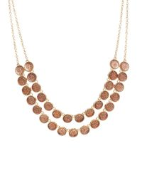 ALDO - Metallic Taodia Two Row Set Necklace - Lyst