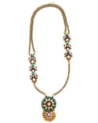 Deepa Gurnani - Multicolor Colleen Necklace - Lyst