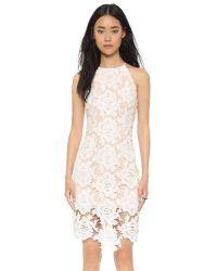 Keepsake - White True Love Dress - Black - Lyst