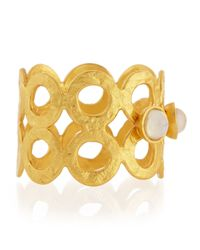 Stephanie Kantis - Metallic Double-Row Hammered Ring - Lyst
