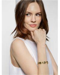BaubleBar | Metallic Gold Elephant Chain Bracelet | Lyst