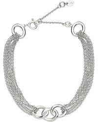 Links of London - Metallic Signature Multi-chain Bracelet - For Women - Lyst