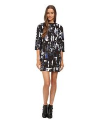 McQ - Multicolor 1/2 Box Dress - Lyst