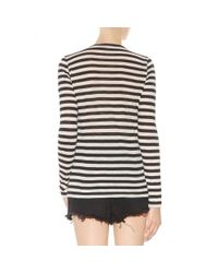 Proenza Schouler - Black Cotton Top - Lyst