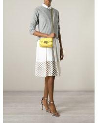 Valentino | Yellow 'rockstud' Crossbody Bag | Lyst