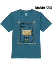 Uniqlo - Blue Men Sprz Ny Graphic T-shirt (mark Dion) for Men - Lyst