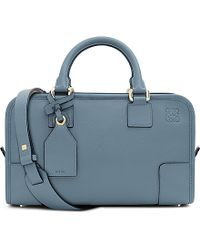 Loewe | Blue Amazona 28 Leather Tote Bag | Lyst