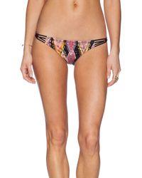 Pilyq - Black Braided Teeny Bikini Bottoms - Lyst