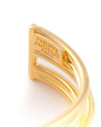 Philippe Audibert | Metallic '5 Wired' Cuff | Lyst