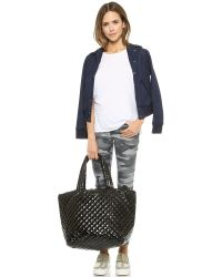 MZ Wallace | Lacquered Large Metro Tote - Black | Lyst