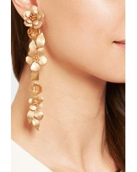 Valentino | Metallic Gold-tone Earrings | Lyst