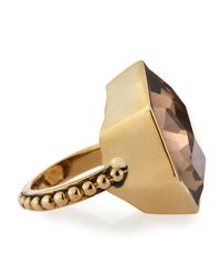 Stephen Dweck | Metallic Smoky Quartz Galactical Ring | Lyst
