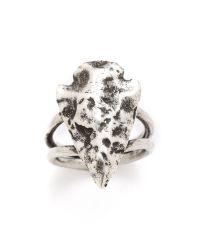 Pamela Love | Metallic Mini Arrowhead Ring | Lyst