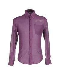 Frankie Morello - Purple Shirt for Men - Lyst