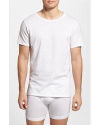 Bread & Boxers - White Crewneck T-shirt for Men - Lyst
