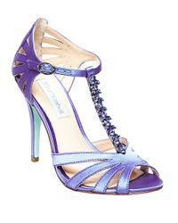 Betsey Johnson | Blue Sb-Song Satin Stilettos | Lyst