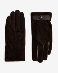 Ted Baker | Brown Sheepskin Gloves for Men | Lyst
