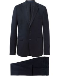 KENZO - Blue Classic Two Piece Suit for Men - Lyst