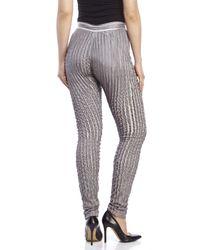 Gareth Pugh - Gray Pintuck Pleated Pants - Lyst