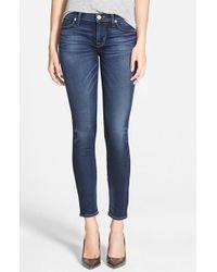 Hudson Jeans | Blue Hudson 'Krista' Super Skinny Jeans | Lyst