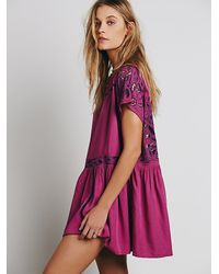 Free People | Purple Womens Ayu Dress | Lyst