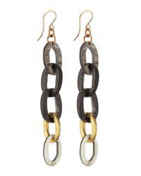 Ashley Pittman | Gray Mara Chain Earrings | Lyst