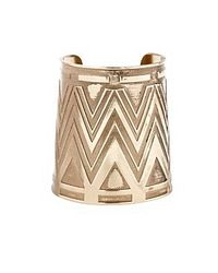 House of Harlow 1960 | Metallic Large Antiqued Cuff | Lyst