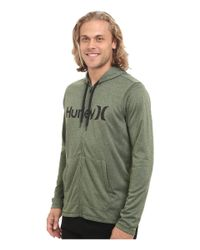 Hurley - Green Dri-fit Lake Street Zip for Men - Lyst