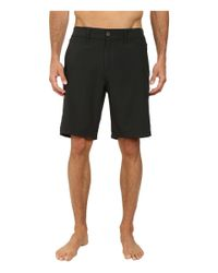 Jack O'neill - Black Symmetry Solid Boardshorts for Men - Lyst