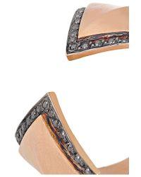 Ileana Makri - Metallic Rhombus Reflection 18-karat Rose Gold Diamond Ring - Lyst