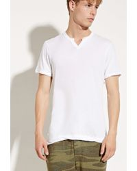 Forever 21 | White Alternative Apparel Moroccan Organic Pima Tee for Men | Lyst