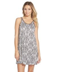 Lush | Gray Clothing Sleep Tank | Lyst