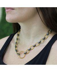Yossi Harari | Metallic Rachel Diamond Link Necklace | Lyst