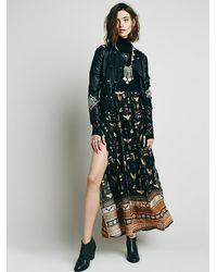 Free People - Multicolor Spell & The Gypsy Collective Womens Phoenix Print Maxi Skirt - Lyst