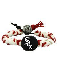 Game Wear - Chicago White Sox Frozen Rope Bracelet - Lyst