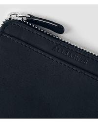 AllSaints - Blue Cleat Wallet for Men - Lyst