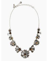 kate spade new york | Multicolor Space Age Floral Necklace | Lyst
