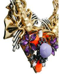 ASOS - Multicolor Pretty Tough Necklace - Lyst