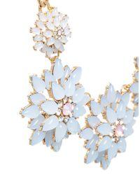ALDO - Blue Siegelman Flower Overlay Necklace - Lyst