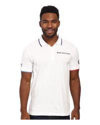 PUMA White Bmw Msp Polo for men