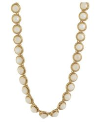 Karen Kane | Metallic Everbloom Eternity Collar | Lyst