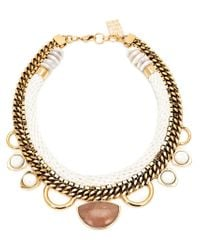 Lizzie Fortunato - Metallic 'the Apolonia' Necklace - Lyst