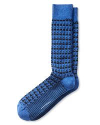 Banana Republic | Blue Textured Sock for Men | Lyst