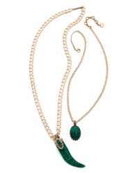 Samantha Wills - Green Enchanted Twilight Necklace - Malachite - Lyst