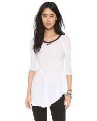 Free People - White Weekends Layering Top - Lyst