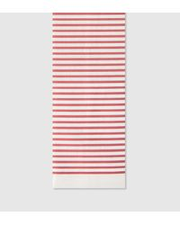 Gucci | Red Striped Silk Tie for Men | Lyst