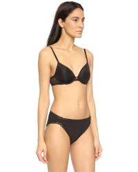 Natori | Black Whisper Average Spacer Underwire Bra | Lyst