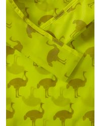 ModCloth - Yellow Thats Ostrich Tote - Lyst