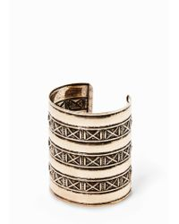 Mango - Metallic Boho Bangle - Lyst