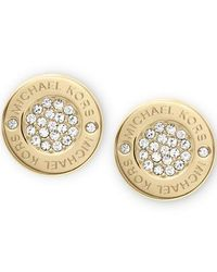Michael Kors | Metallic Mkj3351710 Womens Earrings | Lyst